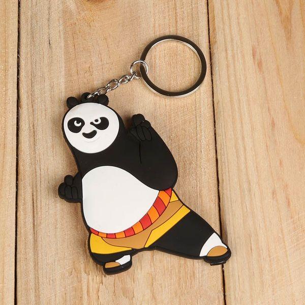Kung Fu Panda 3 Po PVC Figure Key Chains Ring Keychain Keyring