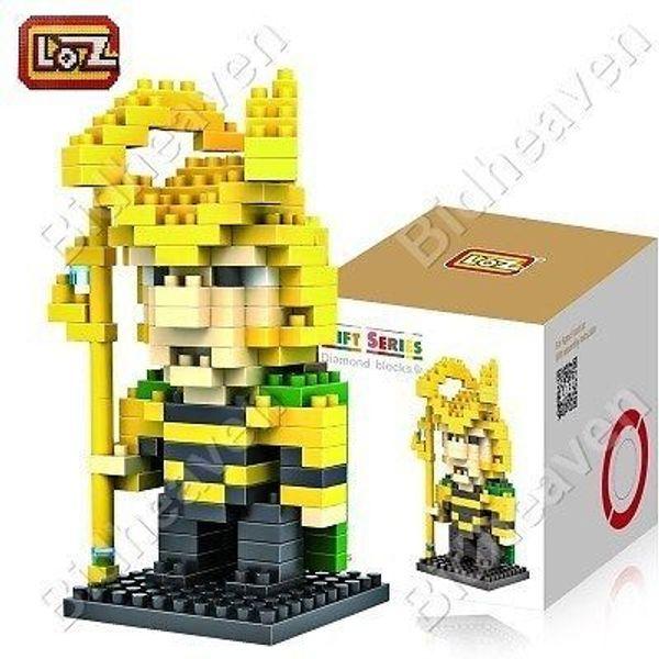 Loki Figure Mini Nano Micro Building DIY Block Brick - Loz