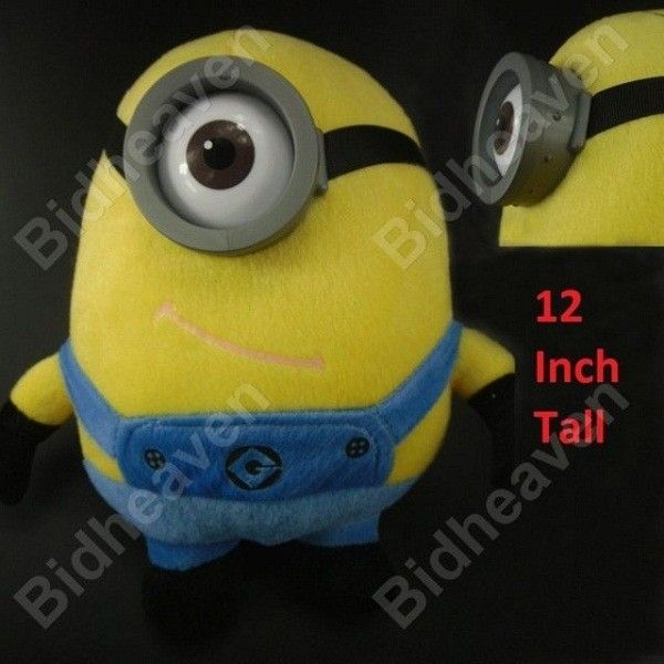 Despicable Me Minion Stewart Soft Plush Doll - 12 Inch