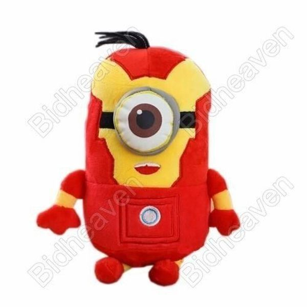Despicable Me Cosplay Minions Carl Iron Man Plush Doll