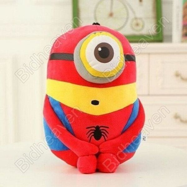 Despicable Me Cosplay Minions Spiderman Plush Doll