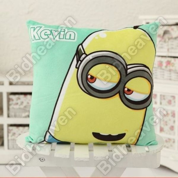 Despicable Me Minion Kevin Soft Plush Cushion Pillow for Car Sofa