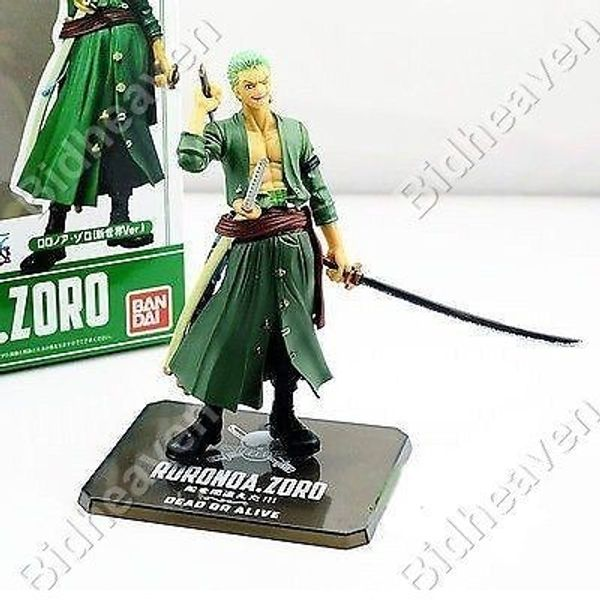 One Piece RORONOA ZORO Strong World Zero Action Figure