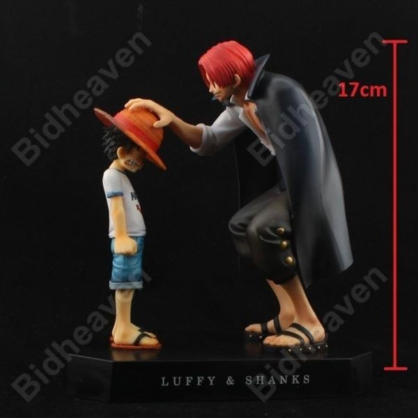 One Piece Young Luffy and Shanks Action Figure