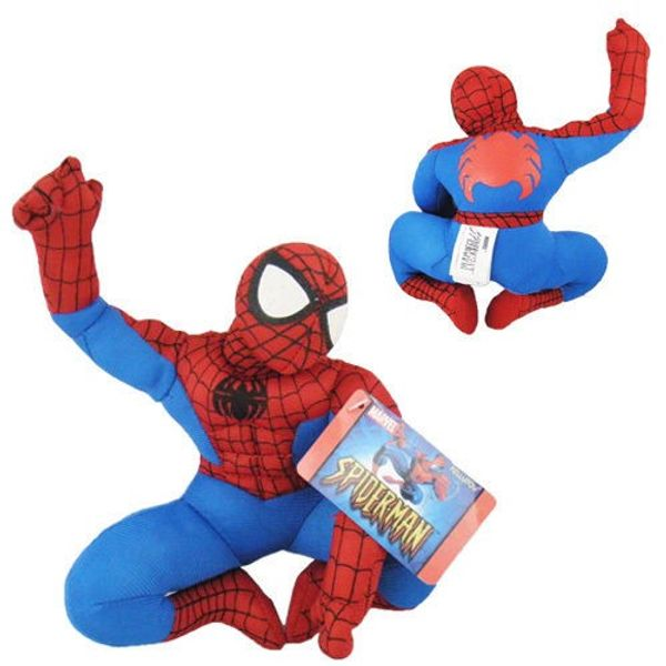 Spiderman Spider Man Soft Plush Stuffed Teddy Doll Toy