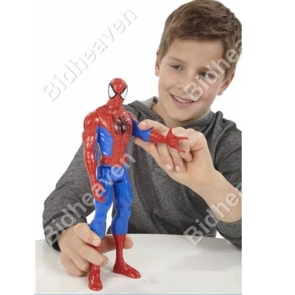 Spiderman Spider Man Movable Action Figure Toy - 12