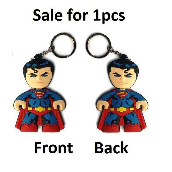 Superman Super Man Keychain