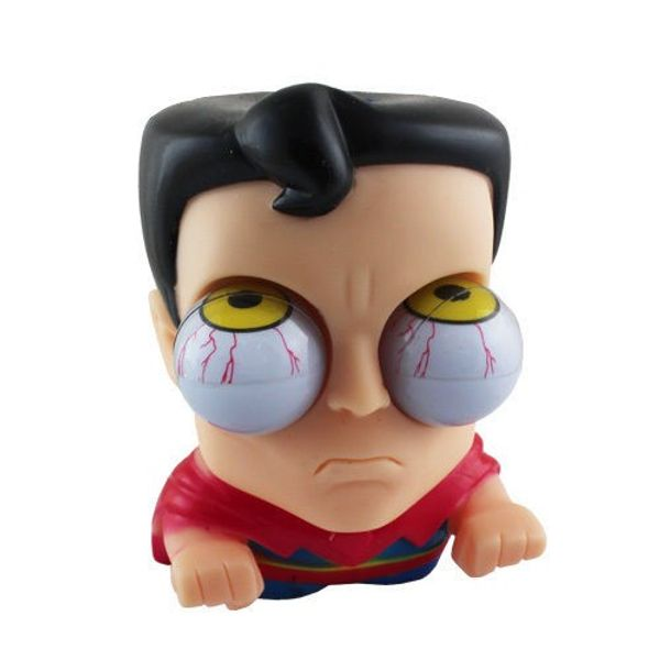 Superman Pop Out Eyes Stress Reliever Toy
