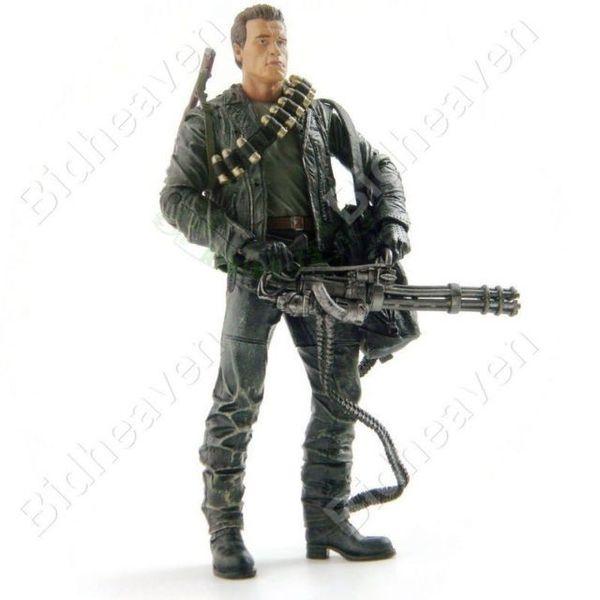 NECA Terminator 2 T-800 ARNOLD Action Figure CYBERDYNE SHOWDOW