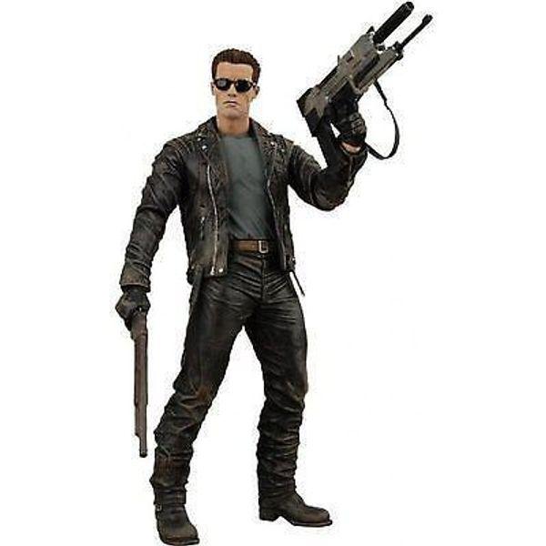 NECA Terminator 2 T-800 ARNOLD Action Figure Battle Across Time