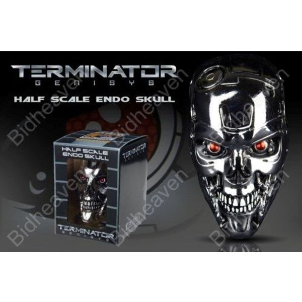 SDCC 2015 Chronicle Collectibles Terminator Genisys 1:2 Scale Endoskull Figure