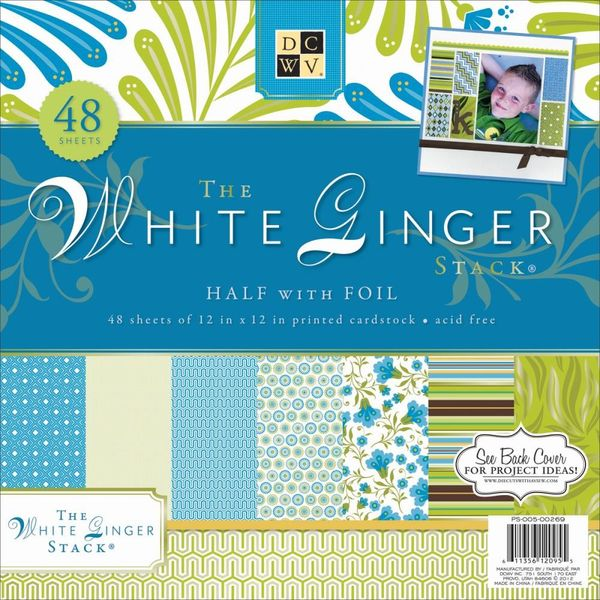 White Ginger Paper pad