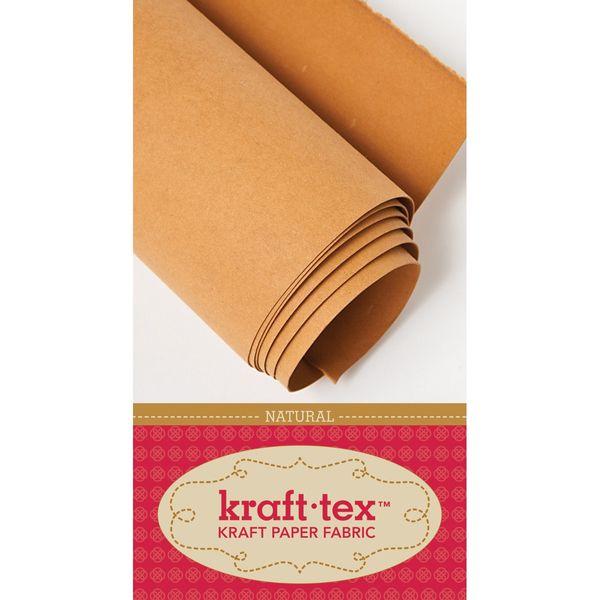 """Natural - Kraft-Tex Kraft Paper Fabric 18""""X54"""""""