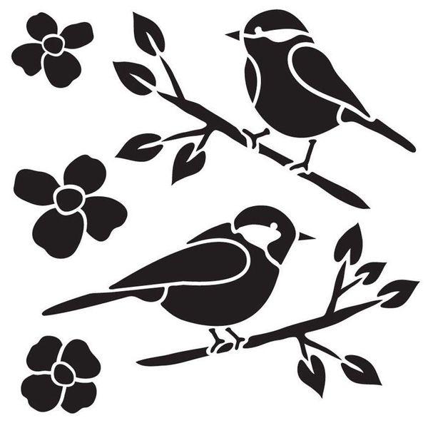 Birds - Stencils