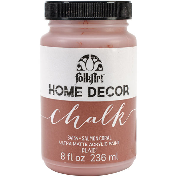 Salmon Coral - FolkArt Home Decor Chalk Paint 8oz