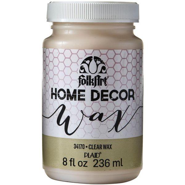 Clear - FolkArt Home Decor Wax Sealer 8oz