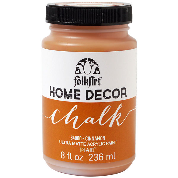 Cinnamon - FolkArt Home Decor Chalk Paint 8oz