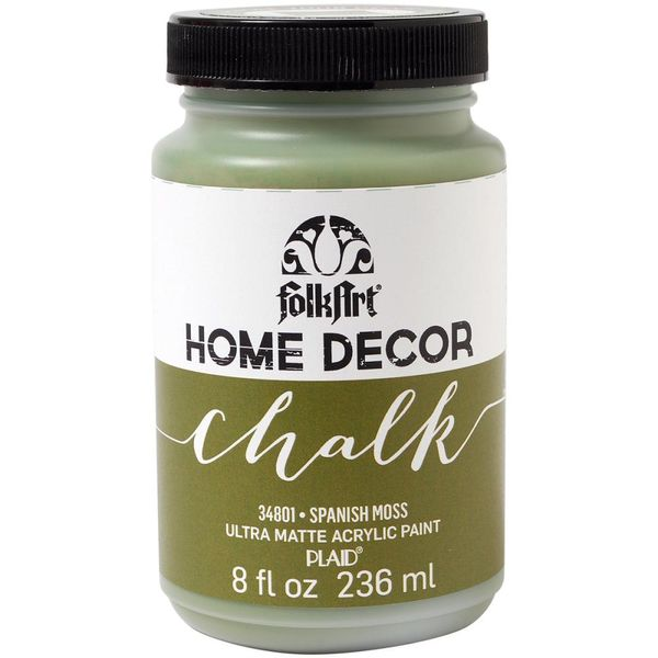 Spanish Moss-FolkArt Home Decor Chalk Paint 8oz