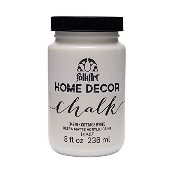 Cottage White - FolkArt Home Decor Chalk Paint 8oz