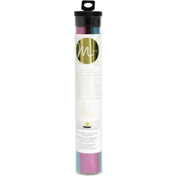 Teal & Hot Pink - Minc Foil Combo
