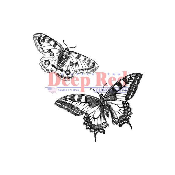 Butterflies Pair - Stamp