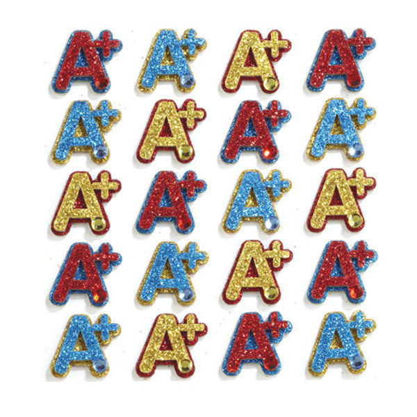 A+ Repeats 3D Stickers