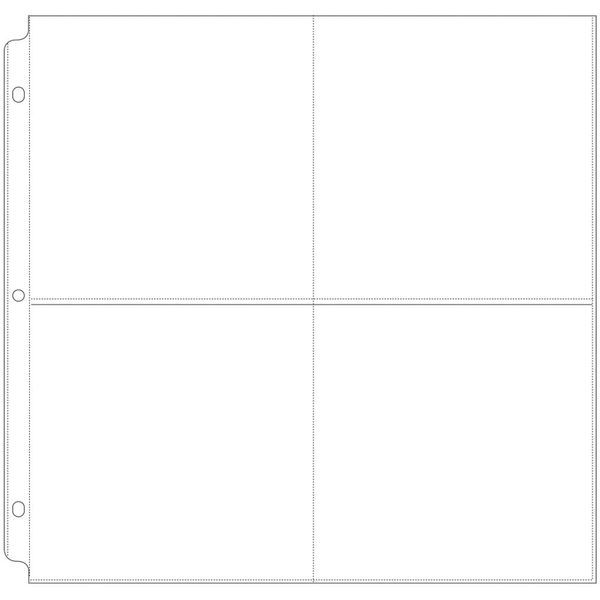 """12""""X12"""" We R Ring Photo Sleeves"""