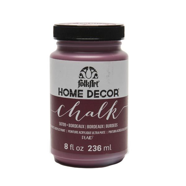 Bordeaux - FolkArt Home Decor Chalk Paint 8oz