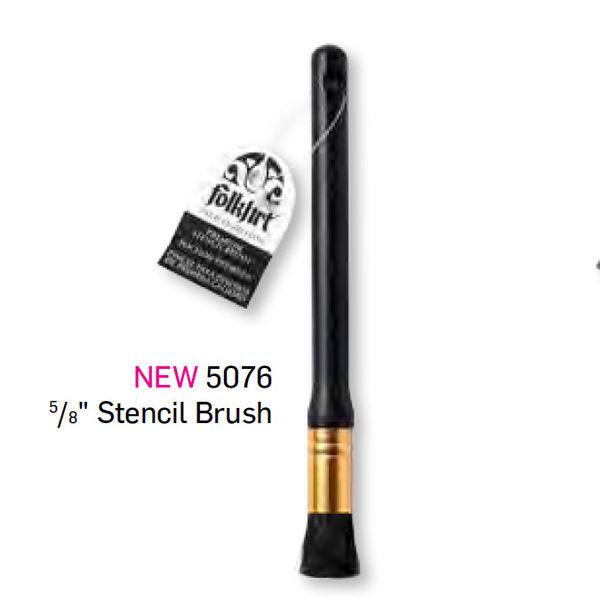 """Premium Stencil Brush -5/8"""""""