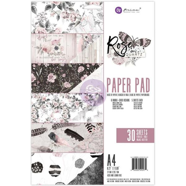 Rose Quartz Double-Sided Paper Pad A4