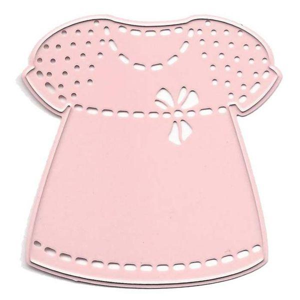 "Baby Girl - Dress, 2.25""X2.5"""