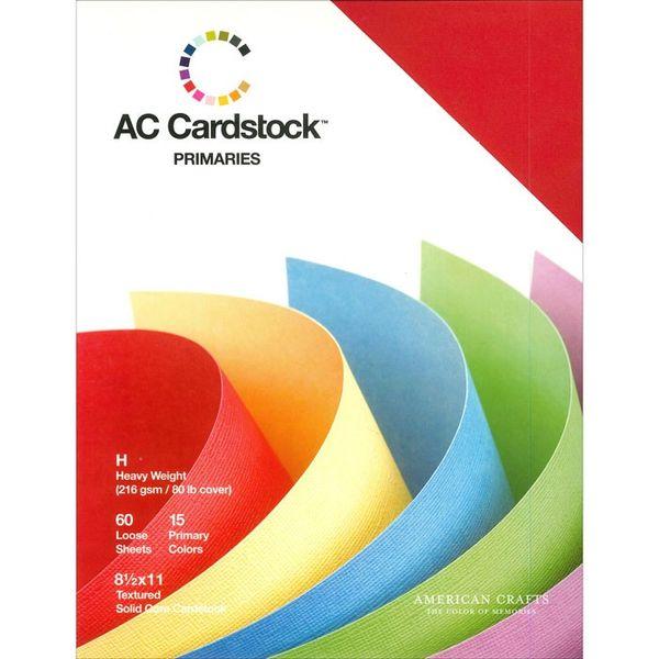 Primaries - Cardstock