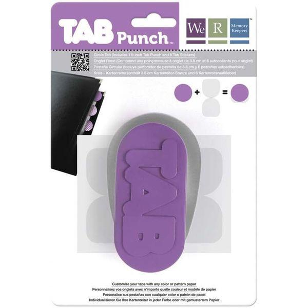 """Circle, 1.5"""" - Tab Punch"""
