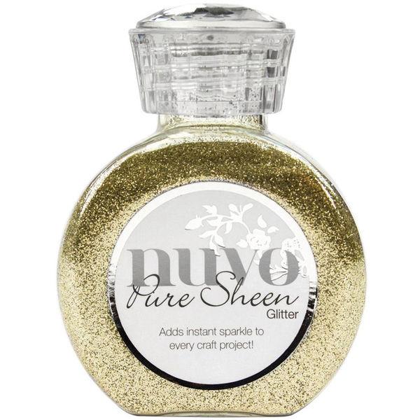 Champagne-Nuvo Pure Sheen Glitter 3.38oz