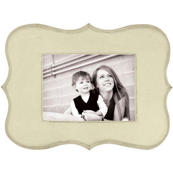 Decorative Wooden Frame - Cream