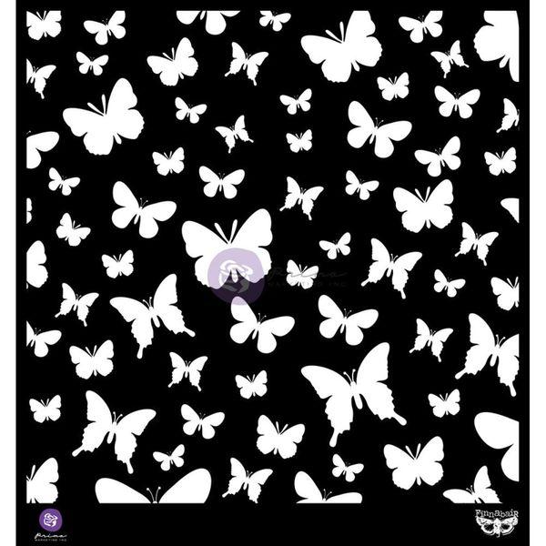 """Butterflies Stencil 12""""X12"""""""