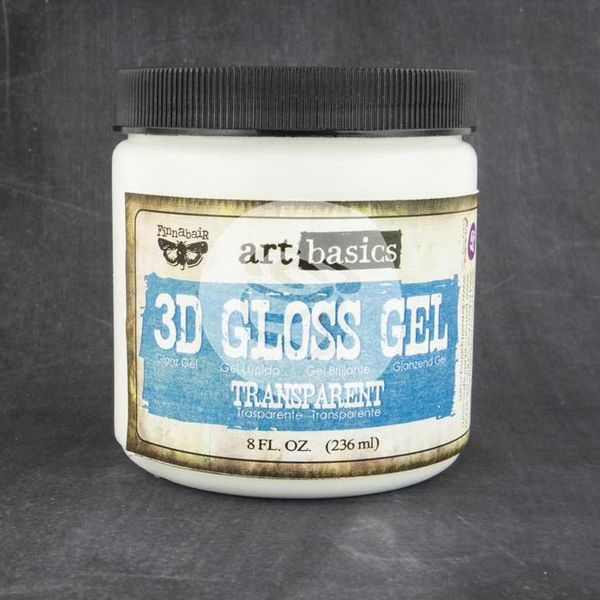 Transparent - 3D Gloss Gel