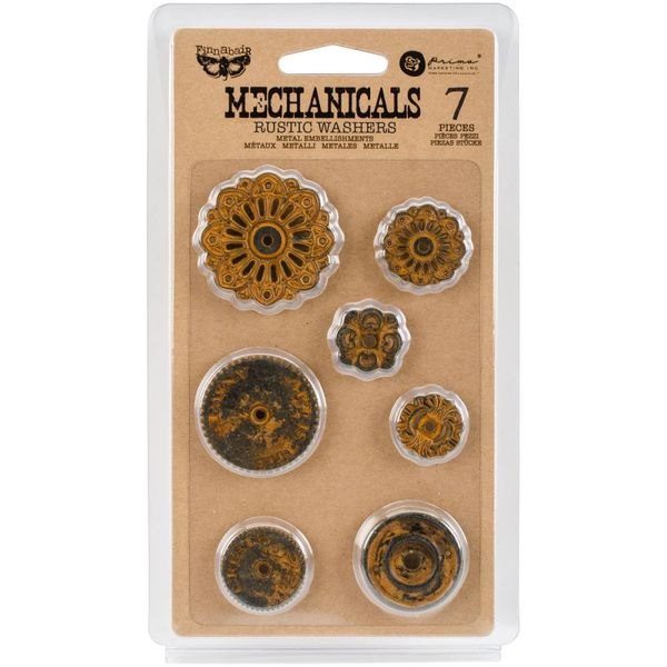 Rustic Washers 7/Pkg