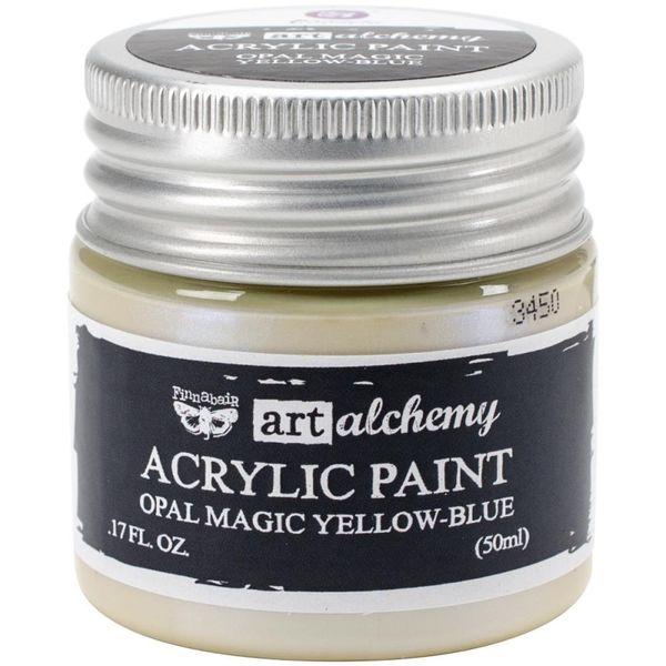 Opal Magic Yellow/Blue - Art Alchemy Acrylic Paint