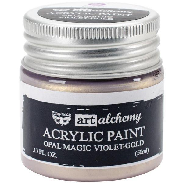 Opal Magic Violet/Gold - Art Alchemy Acrylic Paint