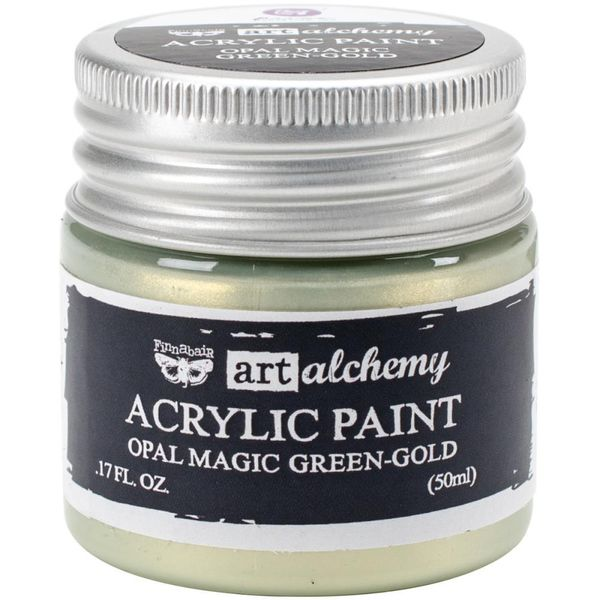 Opal Magic Green/Gold - Art Alchemy Acrylic Paint