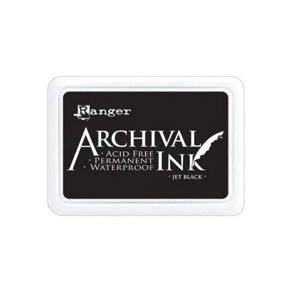 Jet Black - Jumbo Ink Pad