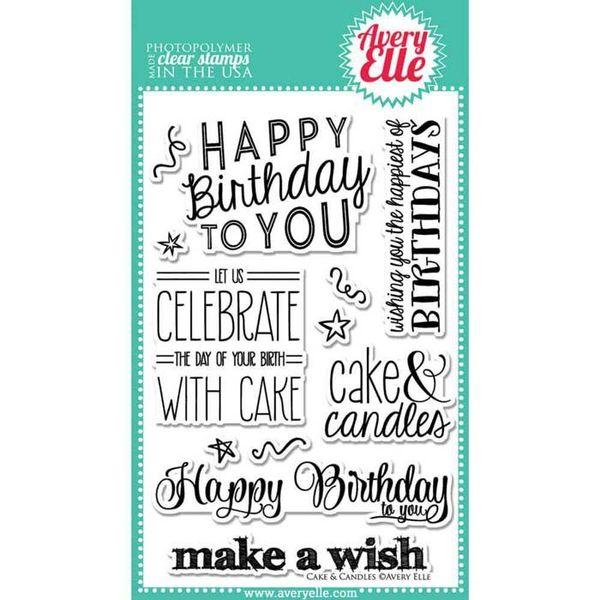 Cake & Candles - Stamp