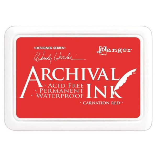 Carnation Red - Archival Inks