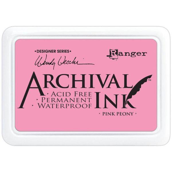 Pink Peony -  Archival Inks
