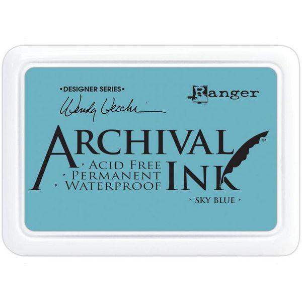 Sky Blue  -  Archival Inks