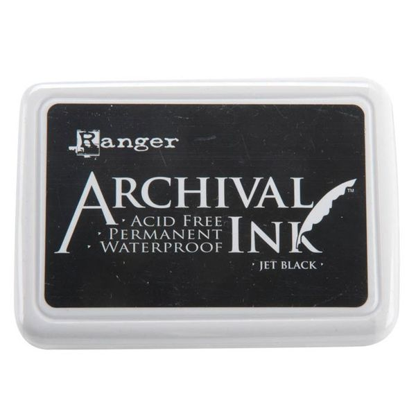 Jet Black - Archival Inks