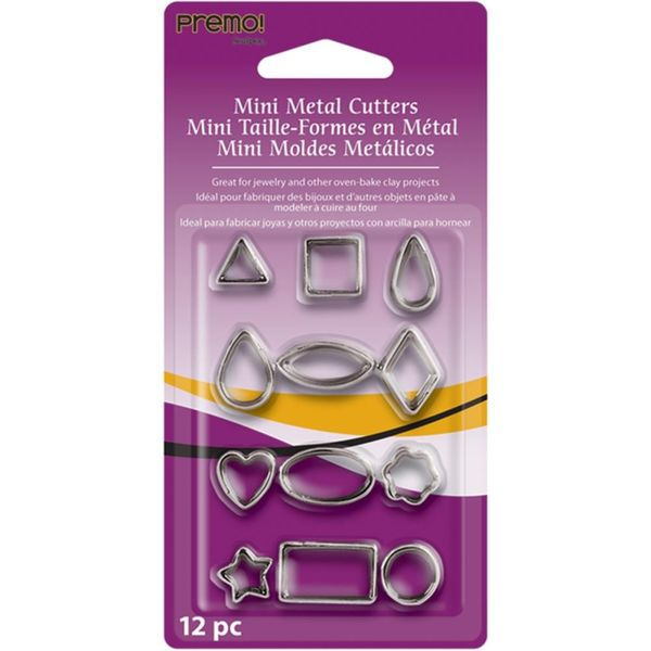 Geometric -  Mini Metal Cutters