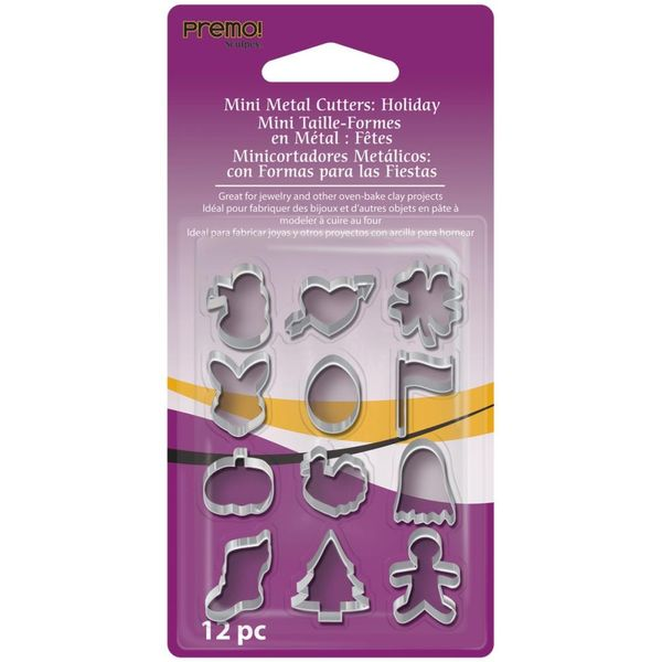 Holiday -  Mini Metal Cutters