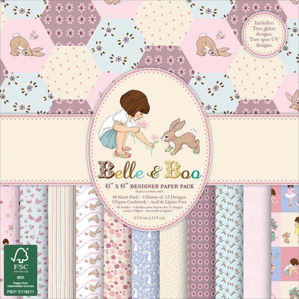 """Belle & Boo II, 6"""" X 6"""""""